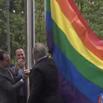 Vets MIA, POW Flags Replaced with Gay Pride Rainbows at Veterans Memorial Plaza