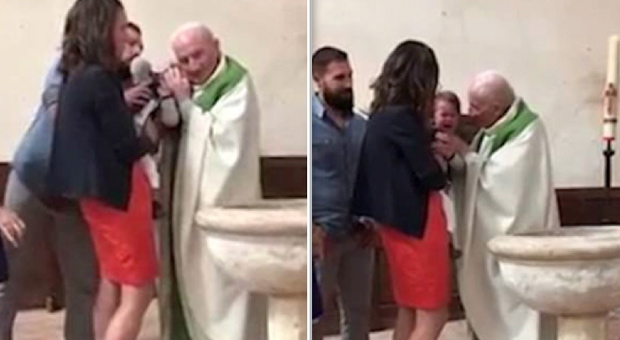 Catholic Priest Caught Violently Assaulting Baby In Front Of Helpless Parents