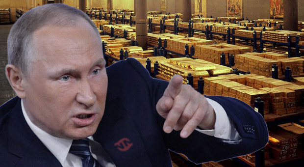 Russia: Putin Drops US Dollar for Gold Amid WW3 Tensions