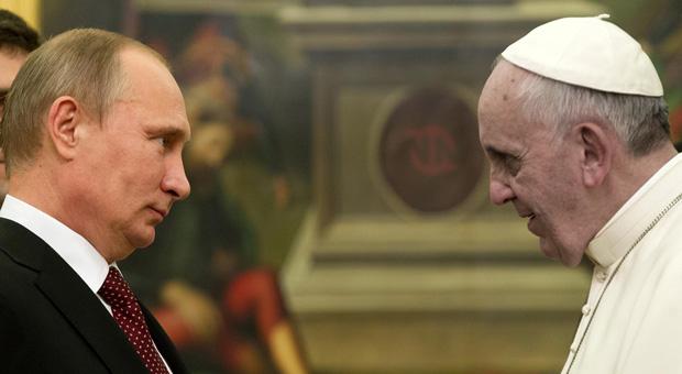 vladimir putin has exposed pope francis as a servant of satan