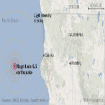 Massive 6.5 Earthquake Hits The Californian Coast