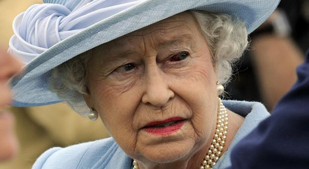 the palace published the statements claiming the queen was  not human