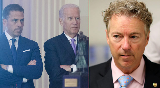 Rand Paul: 'The Bidens Are as Corrupt as the Day is Long'