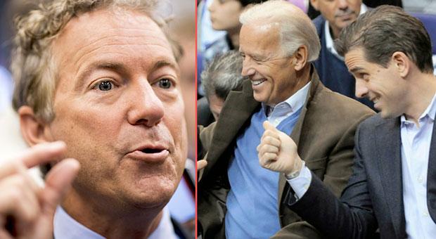 Rand Paul Refers Biden Family to DOJ for Criminal Investigation