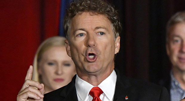 Rand Paul Calls for Investigation into 4 Top Democrats Over Ukraine Threats