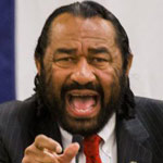 Rep. Al Green Slams Impeachment Hearings for Not Choosing Witnesses 'of Color'
