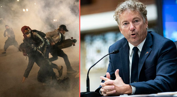 sen  rand paul  r ky  has called on the fbi to investigate whether mobs are being  paid  to incite riots in america s city streets