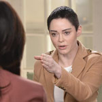 Rose McGowan Slams 'Corrupt' Alyssa Milano for Backing Joe Biden: 'You Are a Fraud'