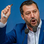 news thumbnail for Salvini Calls for  Immigration Referendum  to Close Italy s  Open Borders