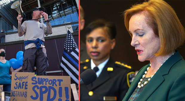 seattle s democrat mayor jenny durkan has facilitated the anti police protests in her city