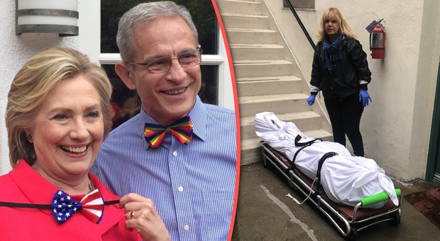 the coroner removed another body from the home of democratic donor ed buck  pictured with hillary clinton