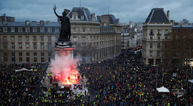 the french yellow vest movement is inspiring other nations to rise up against globalism