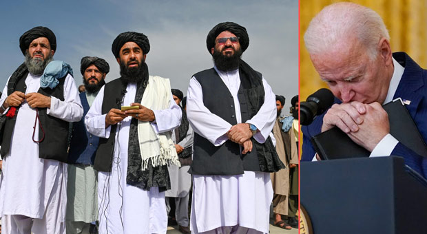 biden   s refusal to stick to the agreement meant they were no longer beholden to its provisions requiring the jihadists not to attack u s  forces
