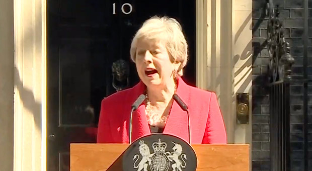 BREAKING: Theresa May Quits as UK Prime Minister