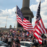 Thousands of Trump Supporters Flood London Streets: Media Blackout