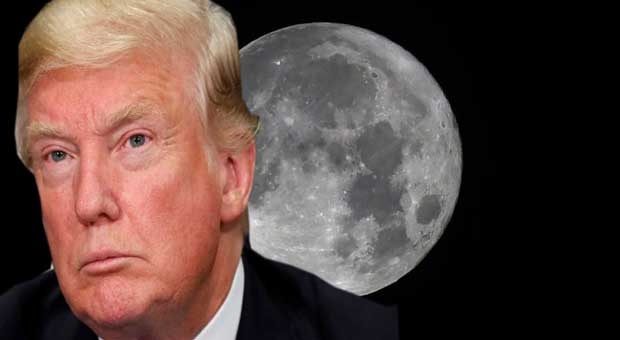 NASA Announces It's Sending Humans To The Moon Under Trump's Orders