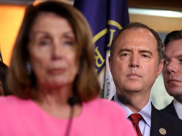 Trump Demands Adam Schiff Has 'Whistleblower' Testify: 'Total Impeachment Scam!'