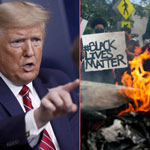 news thumbnail for Trump Declares Black Lives Matter a    Marxist Group