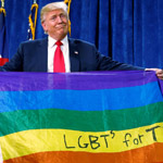 Trump Launches Campaign to Legalize Homosexuality Worldwide