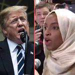 Trump: Omar's 'Rock Star' Welcome 'Staged' in Minnesota - 'They Can't Stand Her'