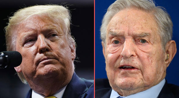calls are mounting for president trump to take down billionaire george soros