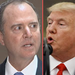 Trump Calls for Investigation into Adam Schiff for 'Leaking Intel' to Harm Bernie