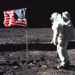 Trump Praises Patriot Neil Armstrong: 'There Was No Kneeling' on the Moon