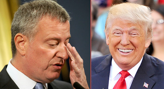 Trump Shreds De Blasio for Quitting 2020 Race: 'NYC is Devastated'