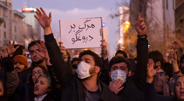 Trump Slaps Iran With More Sanctions For Killing Protesters