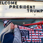 Trump Supporters Camp Out 2 Days Before New Jersey Re-Election Rally