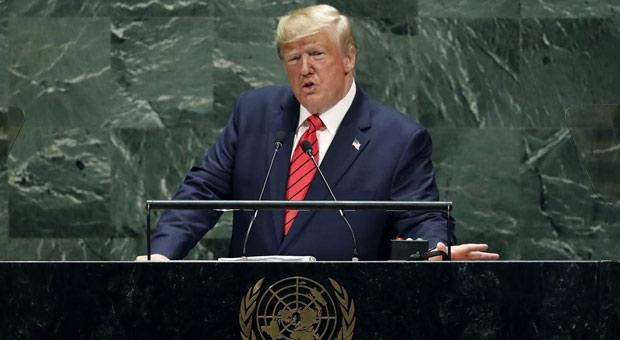 Trump Tells UN: Future Belongs to Patriots, Not Globalists