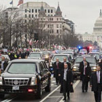 Trump's Motorcade Press Van Drivers 'Fired' After Gun Found In Driver's Bag