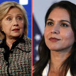 2020 Democrat Tulsi Gabbard Files Defamation Lawsuit Against Hillary Clinton