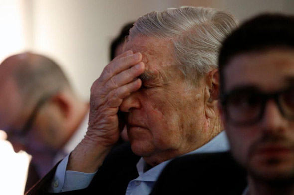 the anti defamation league revealed that soros is currently receiving around half a million negative mentions per day