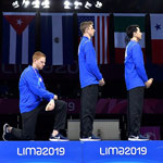 news thumbnail for US Fencer Punished for Anti American Kneeling Stunt  Other Athletes Warned