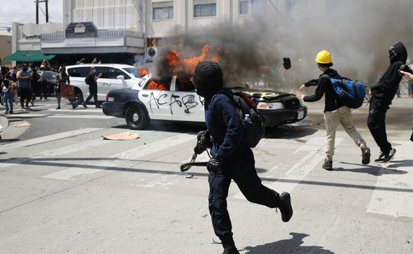 a year of radical left violence has left many americans fearing for the safety