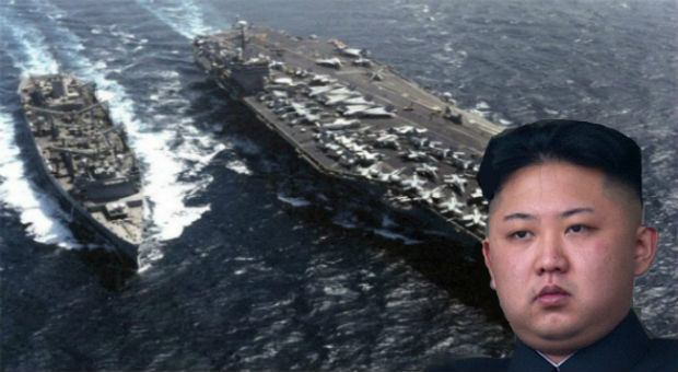 Largest Ever US Navy Strike Group Head To North Korea ...