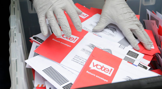 USPS Trays Containing Mail-In Ballots Found Dumped in a Ditch