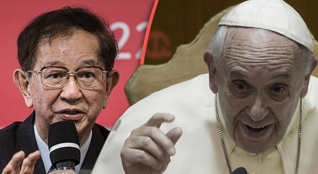 vatican speaker dr  yuan tseh lee supports pope francis in the push for global depopulation