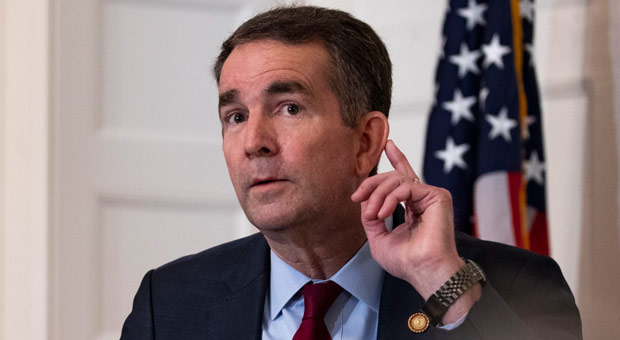 virginia s democrat gov ralph northam is banning guns from state capitol grounds