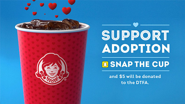 wendy s is helping to raise money and awareness for adoption
