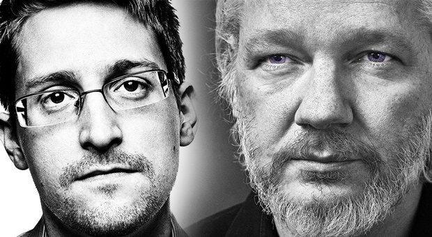 whistleblowers like edward snowden and julian assange will face 14 years in prison for leaking information