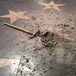 latest Man Who Destroyed Trump's Hollywood Star with Pickax Facing 'Years in Prison'