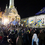 Police React To Ukraine Protests With Brutality