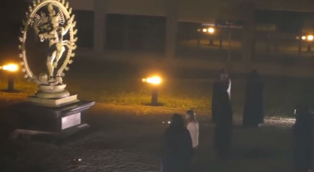 an investigation has been opened at cern  european organization for nuclear research  following released footage of an alleged human sacrifice