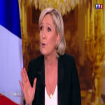 latest Le Pen Demands COMPLETE REMOVAL Of EU Flag In Fiery TV Interview