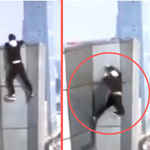 Video of Chinese Daredevil Falling to Death from Skyscraper Goes Viral