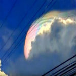 Crowds Panic As Giant Wormhole Opens Up In Sky Over Philippines